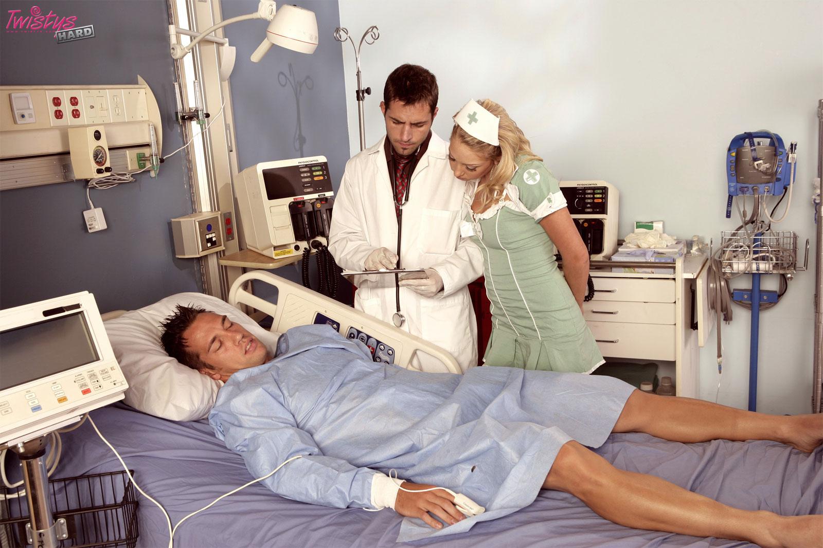 Госпиталь Медсестра Порно