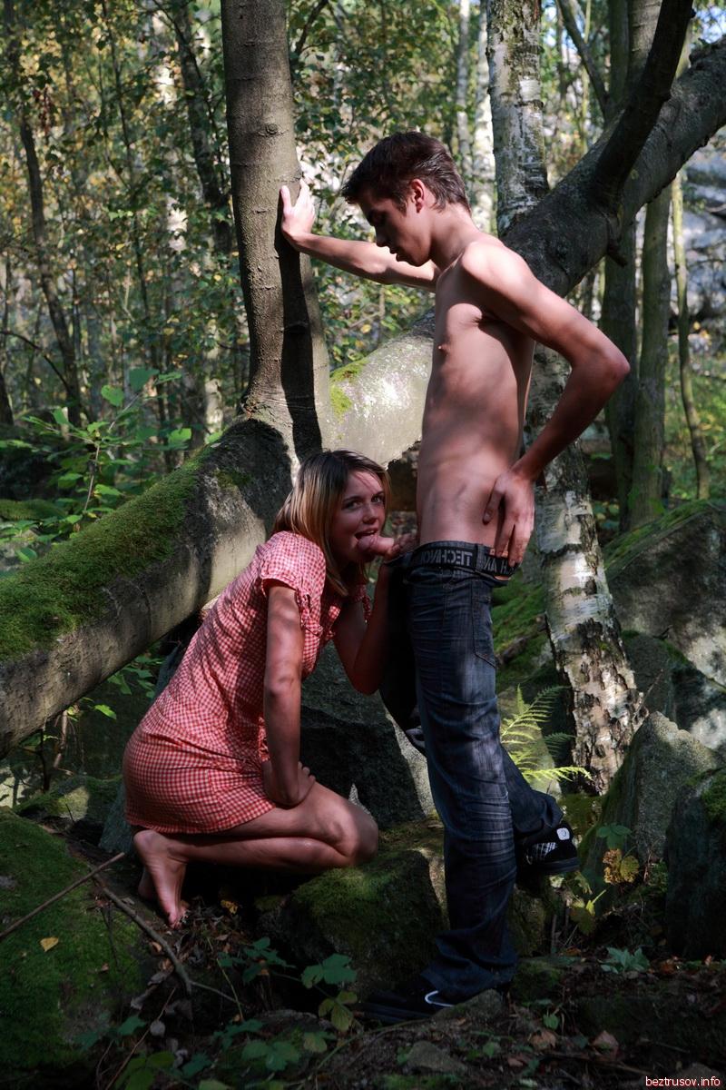 лесу секс эротические фото в
