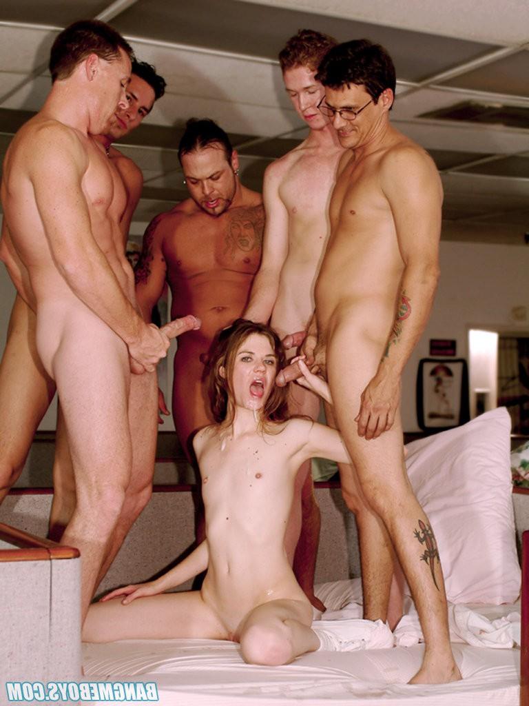 порно групповуха с тощей