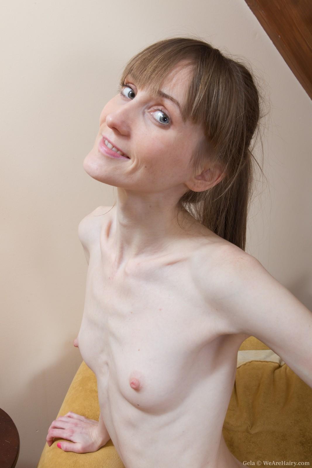 Порно фото анорексичек с волосатой киской — photo 7