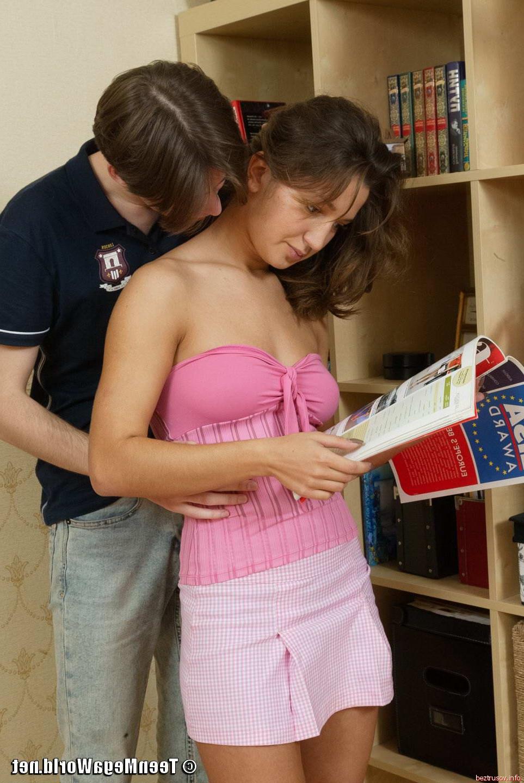 Фото секса в платье